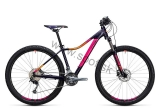 Bicykel CUBE Access WLS Pro 27,5 Aubergine 2017