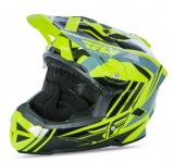 Prilba FLY Default Hi-Vis Black