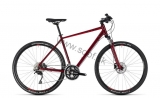 Bicykel CUBE Nature SL Man darkred´n´red 2018