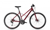 Bicykel CUBE Nature SL Woman darkred´n´red 2018