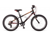 Bicykel DEMA Racer 20 RF 7sp Black-red-orange  2018