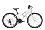 Bicykel Dema Pegas 24 Lady White-pink-gray 2018