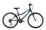 Bicykel Dema Iseo 24  Black-blue-turquoise 2018