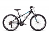 Bicykel DEMA Racer 24 RF  Black-blue- white  2018