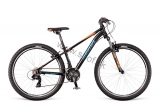Bicykel Dema Racer 26 SF Black-blue-orange 2018
