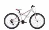 Detský bicykel CUBE Access 240 white´n´red´n´coral 2020
