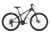 Bicykel Dema Rocket 26 black-white blue 2019