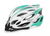 Prilba R2 Wind white/mint