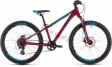 Detský bicykel CUBE Access 240 Disc berry 2020