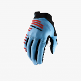 Rukavice 100% R-CORE Blue/Fluo Red