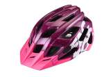 Prilba Extend FACTOR bordo-grey M/L (58-61cm) shine