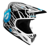 Prilba SIXSIXONE EVO Wired  Black/Cyan 2012