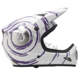 SixSixOne EVO INSPIRAL White/Purple 2011