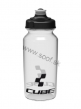 Fľaša CUBE Icon transparent 500ml
