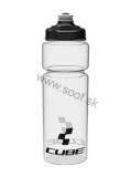 Fľaša CUBE Icon transparent 750ml