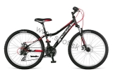 Bicykel Dema Iseo 24 SF M Black-White-Red 2016