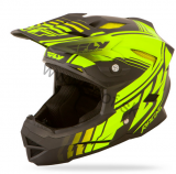 Prilba FLY Default 15 Fluo Yellow