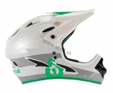 Prilba SIXSIXONE COMP Grey/Green 2015