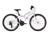 Bicykel Dema Pegas 24 White-pink-gray 2018