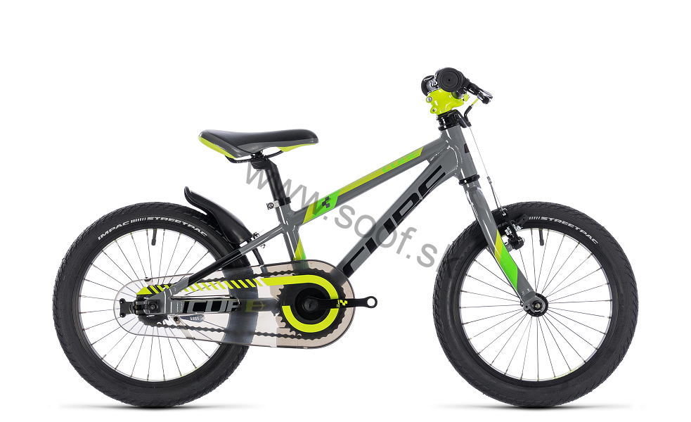 923315f58 Detský bicykel CUBE Kid 160 Grey 2019