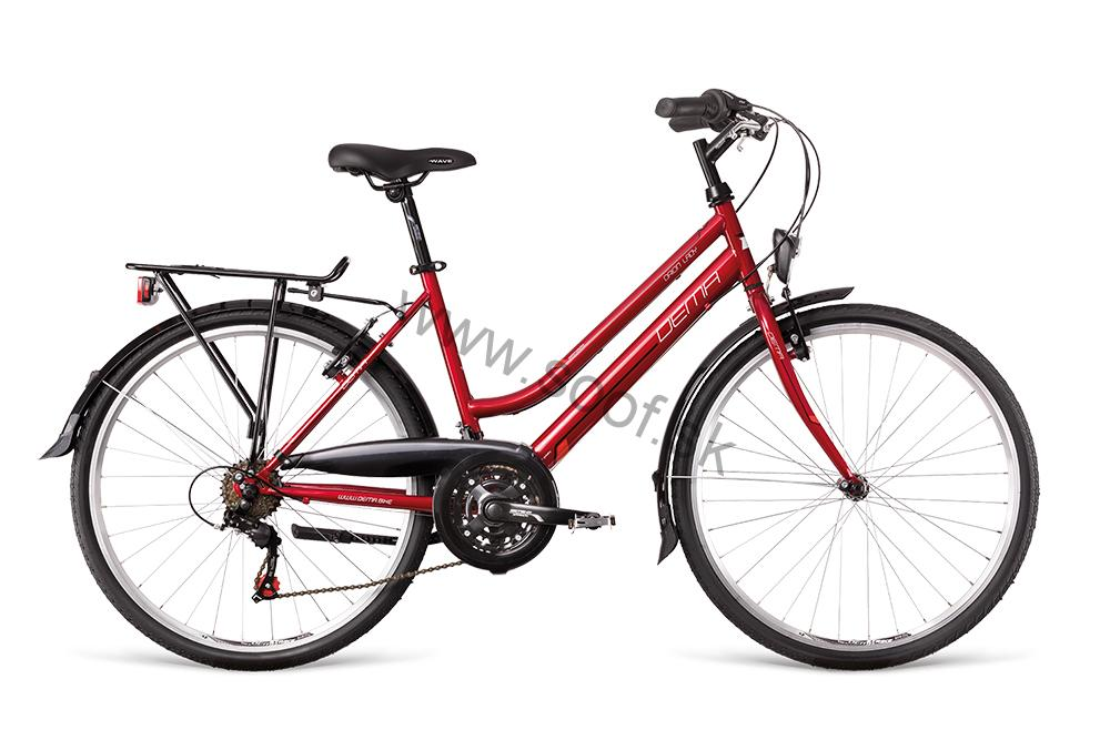 Bicykel Dema Orion Lady red 2018