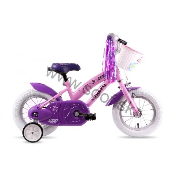 09e1d4be4 Detský bicykel Harry Lolly 12 ružový empty